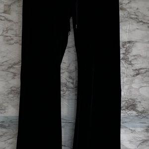 "Guess Pants - G ""By Guess"" women's black track pants. Velvet. S"